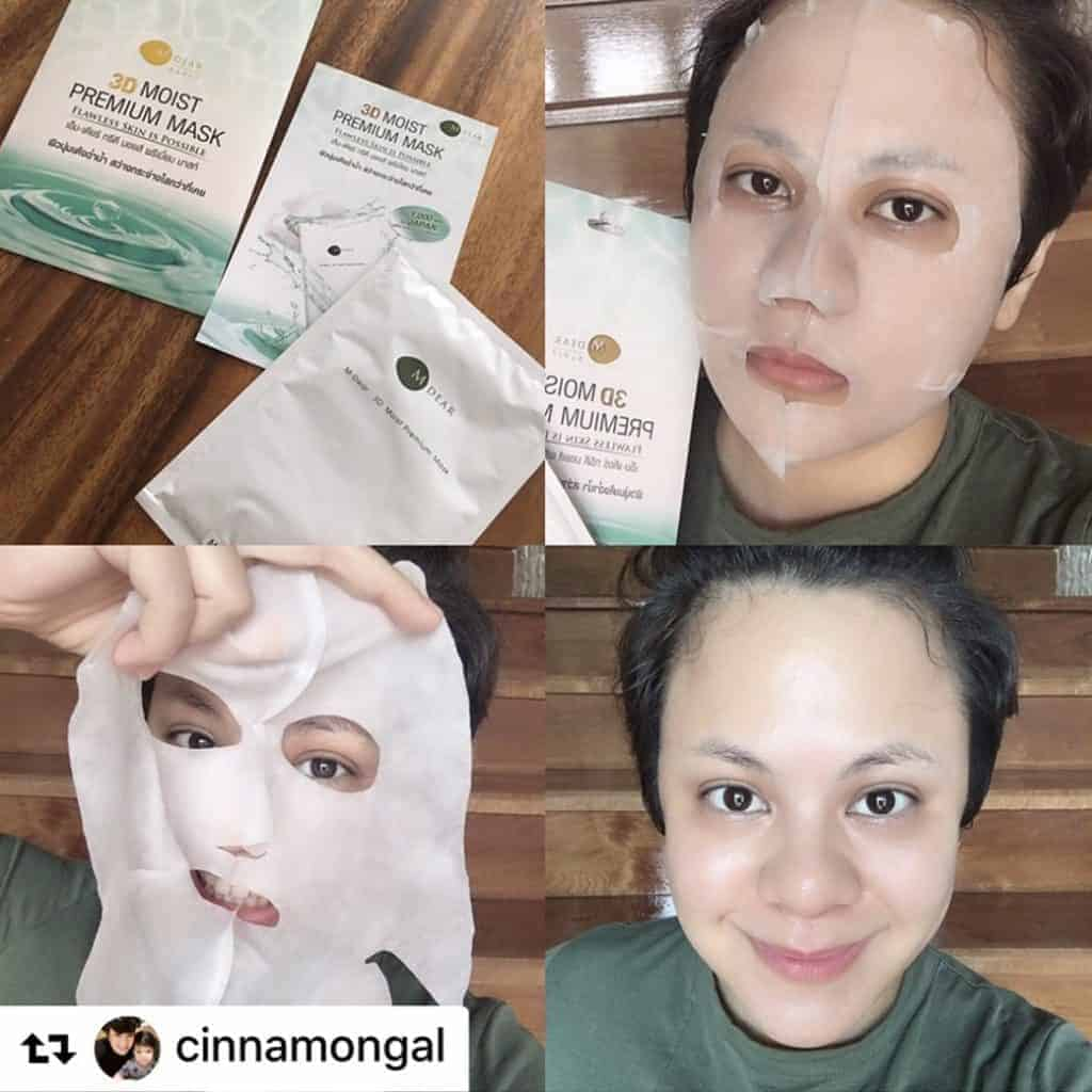 M-DEAR 3D Moist Premium Mask by K.MOD